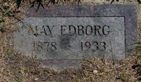 EDBORG, MAY - Jones County, South Dakota | MAY EDBORG - South Dakota Gravestone Photos