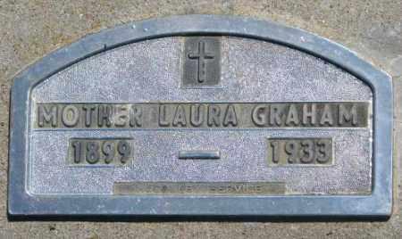 GRAHAM, LAURA - Jones County, South Dakota | LAURA GRAHAM - South Dakota Gravestone Photos