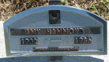 HAMMOND, AMY - Jones County, South Dakota | AMY HAMMOND - South Dakota Gravestone Photos