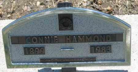 HAMMOND, CONNIE - Jones County, South Dakota | CONNIE HAMMOND - South Dakota Gravestone Photos