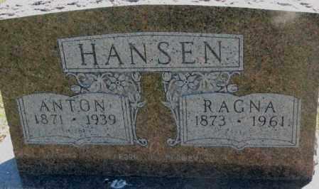 HANSEN, ANTON - Jones County, South Dakota | ANTON HANSEN - South Dakota Gravestone Photos