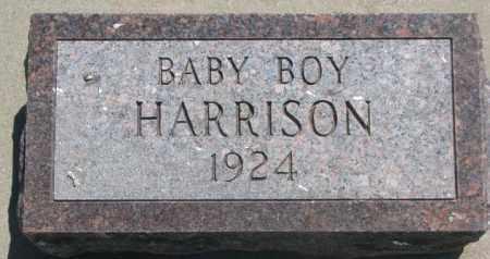 HARRISON, BABY BOY - Jones County, South Dakota | BABY BOY HARRISON - South Dakota Gravestone Photos