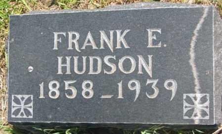 HUDSON, FRANK E. - Jones County, South Dakota | FRANK E. HUDSON - South Dakota Gravestone Photos