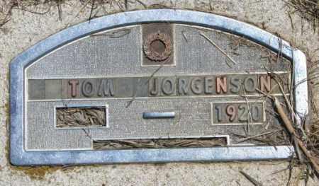 JORGENSON, TOM - Jones County, South Dakota | TOM JORGENSON - South Dakota Gravestone Photos