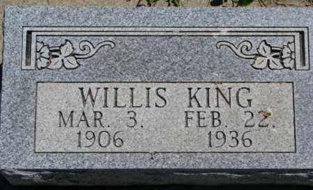 KING, WILLIS - Jones County, South Dakota | WILLIS KING - South Dakota Gravestone Photos