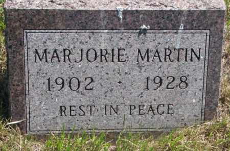 MARTIN, MARJORIE - Jones County, South Dakota   MARJORIE MARTIN - South Dakota Gravestone Photos