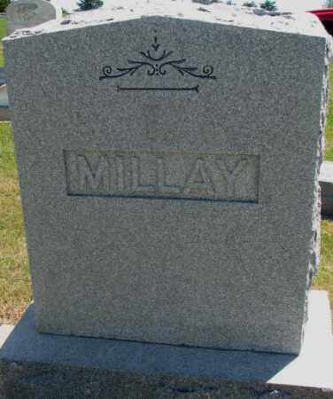 MILLAY, PLOT - Jones County, South Dakota | PLOT MILLAY - South Dakota Gravestone Photos