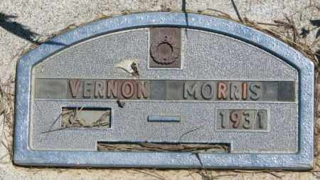MORRIS, VERNON - Jones County, South Dakota | VERNON MORRIS - South Dakota Gravestone Photos