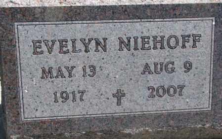NIEHOFF, EVELYN - Jones County, South Dakota | EVELYN NIEHOFF - South Dakota Gravestone Photos