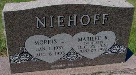 WHITAKER NIEHOFF, MARILEE R. - Jones County, South Dakota | MARILEE R. WHITAKER NIEHOFF - South Dakota Gravestone Photos