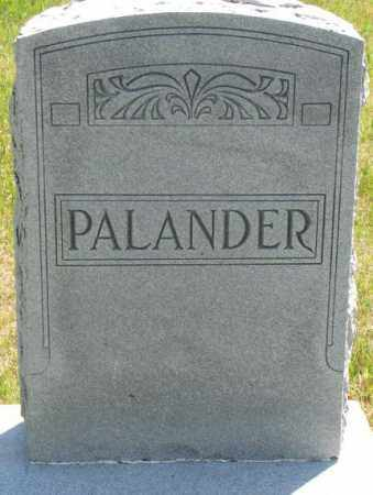 PALANDER, PLOT - Jones County, South Dakota | PLOT PALANDER - South Dakota Gravestone Photos