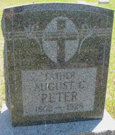 PETER, AUGUST C. - Jones County, South Dakota | AUGUST C. PETER - South Dakota Gravestone Photos
