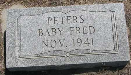 PETERS, FRED - Jones County, South Dakota | FRED PETERS - South Dakota Gravestone Photos