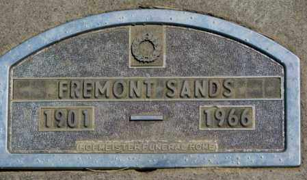 SANDS, FREMONT - Jones County, South Dakota | FREMONT SANDS - South Dakota Gravestone Photos