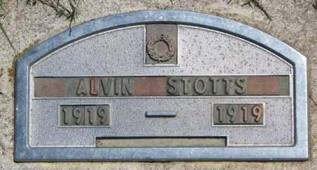 STOTTS, ALVIN - Jones County, South Dakota   ALVIN STOTTS - South Dakota Gravestone Photos