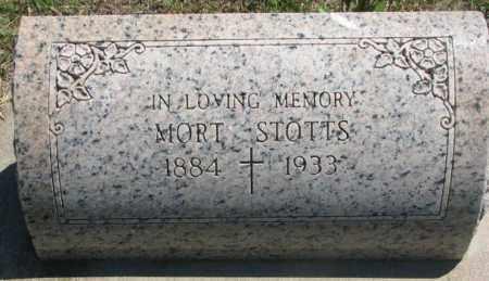 STOTTS, MORT - Jones County, South Dakota   MORT STOTTS - South Dakota Gravestone Photos
