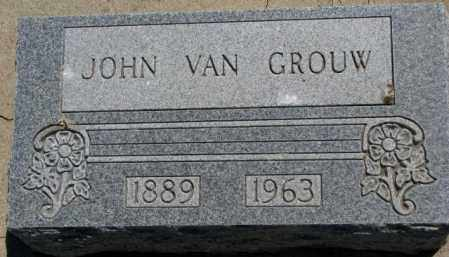 VAN GROUW, JOHN - Jones County, South Dakota | JOHN VAN GROUW - South Dakota Gravestone Photos