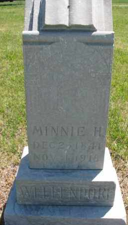 WELLENDORF, MINNIE H. - Jones County, South Dakota | MINNIE H. WELLENDORF - South Dakota Gravestone Photos