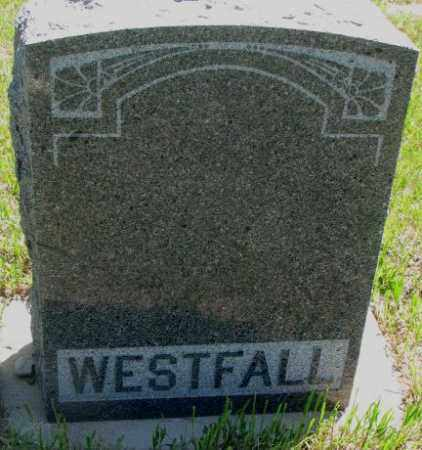 WESTFALL, PLOT - Jones County, South Dakota | PLOT WESTFALL - South Dakota Gravestone Photos