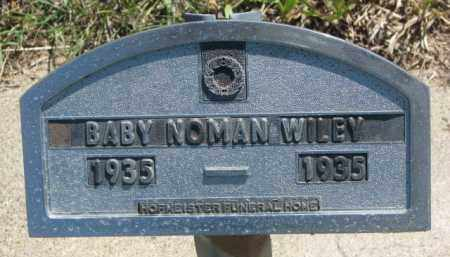 WILEY, NOMAN - Jones County, South Dakota | NOMAN WILEY - South Dakota Gravestone Photos