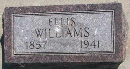 WILLIAMS, ELLIS - Jones County, South Dakota | ELLIS WILLIAMS - South Dakota Gravestone Photos