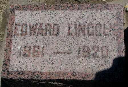 WISHARD, EDWARD LINCOLN - Jones County, South Dakota | EDWARD LINCOLN WISHARD - South Dakota Gravestone Photos
