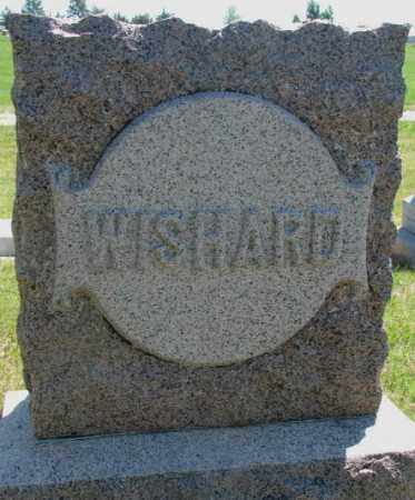 WISHARD, PLOT - Jones County, South Dakota | PLOT WISHARD - South Dakota Gravestone Photos
