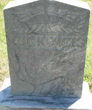 ZICKRICK, ZELDA FAY - Jones County, South Dakota | ZELDA FAY ZICKRICK - South Dakota Gravestone Photos