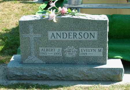 SEVERSON ANDERSON, EVELYN MARGARET - Kingsbury County, South Dakota | EVELYN MARGARET SEVERSON ANDERSON - South Dakota Gravestone Photos