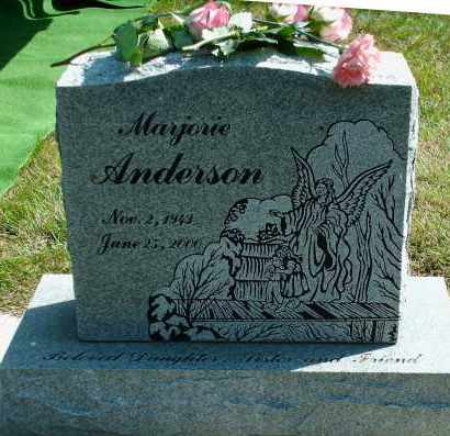 ANDERSON, MARJORIE ANN - Kingsbury County, South Dakota   MARJORIE ANN ANDERSON - South Dakota Gravestone Photos