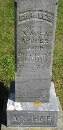 ARCHER, CHARLES - Kingsbury County, South Dakota | CHARLES ARCHER - South Dakota Gravestone Photos