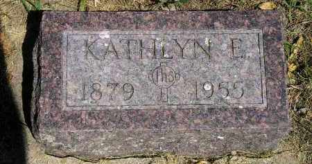 ARCHER, KATHLYN E. - Kingsbury County, South Dakota | KATHLYN E. ARCHER - South Dakota Gravestone Photos