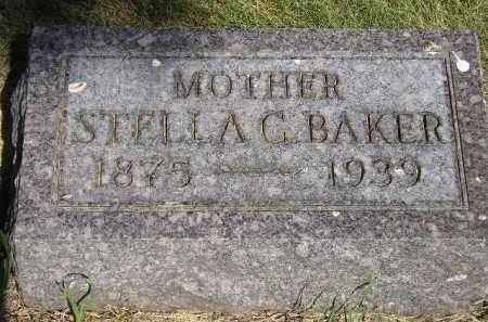 BAKER, STELLA C. - Kingsbury County, South Dakota   STELLA C. BAKER - South Dakota Gravestone Photos