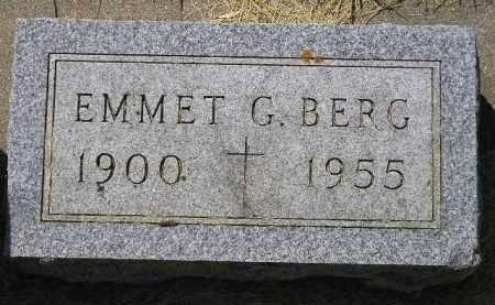 BERG, EMMET G. - Kingsbury County, South Dakota   EMMET G. BERG - South Dakota Gravestone Photos