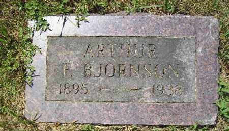 BJORNSON, ARTHUR F. - Kingsbury County, South Dakota | ARTHUR F. BJORNSON - South Dakota Gravestone Photos