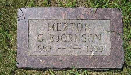BJORNSON, MERTON G. - Kingsbury County, South Dakota   MERTON G. BJORNSON - South Dakota Gravestone Photos