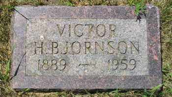 BJORNSON, VICTOR H. - Kingsbury County, South Dakota | VICTOR H. BJORNSON - South Dakota Gravestone Photos