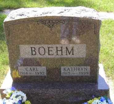 BOEHM, CARL - Kingsbury County, South Dakota | CARL BOEHM - South Dakota Gravestone Photos
