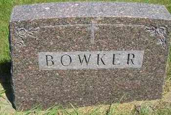 BOWKER, FAMILY STONE - Kingsbury County, South Dakota | FAMILY STONE BOWKER - South Dakota Gravestone Photos