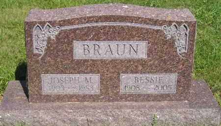 BRAUN, JOSEPH M. - Kingsbury County, South Dakota | JOSEPH M. BRAUN - South Dakota Gravestone Photos