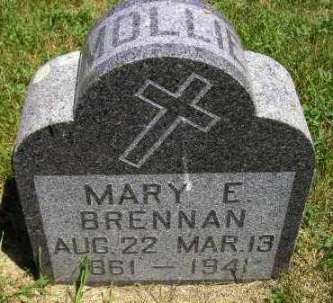 BRENNAN, MARY E. - Kingsbury County, South Dakota | MARY E. BRENNAN - South Dakota Gravestone Photos