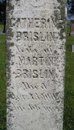 BRISLIN, CATHERINE - Kingsbury County, South Dakota | CATHERINE BRISLIN - South Dakota Gravestone Photos