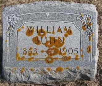 BUHN, WILLIAM - Kingsbury County, South Dakota   WILLIAM BUHN - South Dakota Gravestone Photos