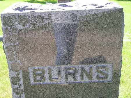 BURNS, FAMILY STONE - Kingsbury County, South Dakota | FAMILY STONE BURNS - South Dakota Gravestone Photos