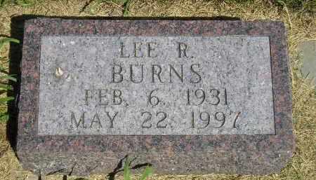 BURNS, LEE R. - Kingsbury County, South Dakota | LEE R. BURNS - South Dakota Gravestone Photos