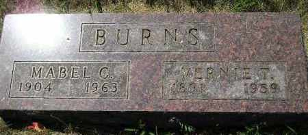 BURNS, MABEL C. - Kingsbury County, South Dakota | MABEL C. BURNS - South Dakota Gravestone Photos