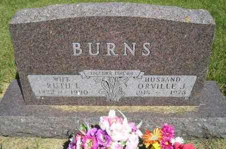 BURNS, ORVILLE J. - Kingsbury County, South Dakota | ORVILLE J. BURNS - South Dakota Gravestone Photos