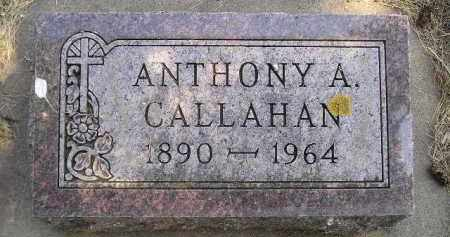 CALLAHAN, ANTHONY A. - Kingsbury County, South Dakota | ANTHONY A. CALLAHAN - South Dakota Gravestone Photos