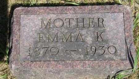 CALLAHAN, EMMA K. - Kingsbury County, South Dakota | EMMA K. CALLAHAN - South Dakota Gravestone Photos