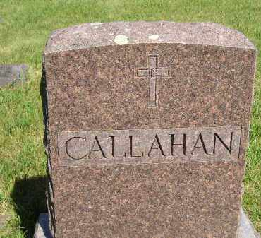 CALLAHAN, FAMILY STONE - Kingsbury County, South Dakota   FAMILY STONE CALLAHAN - South Dakota Gravestone Photos